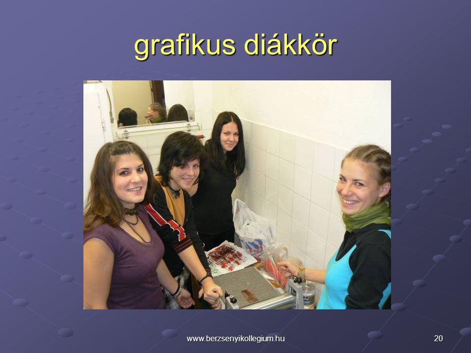 grafikus diákkör www.berzsenyikollegium.hu