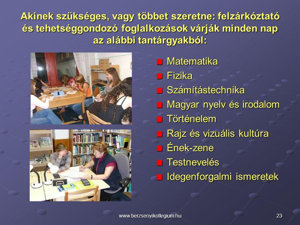 Magyar nyelv és irodalom Történelem Rajz és vizuális kultúra Ének-zene