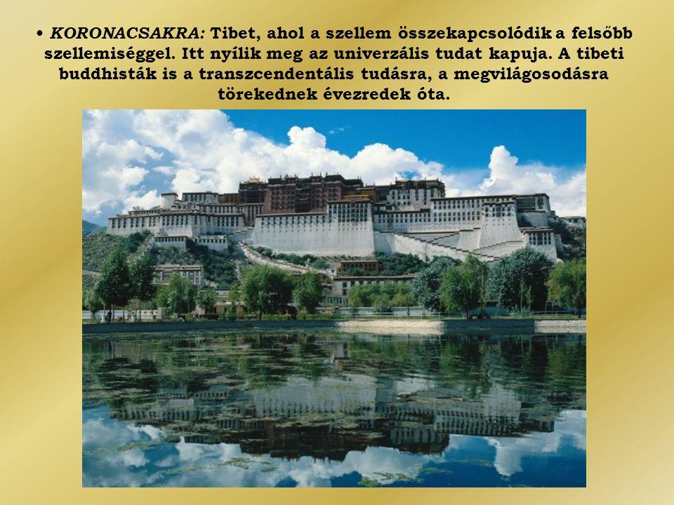 • KORONACSAKRA: Tibet, ahol a szellem összekapcsolódik a felsőbb szellemiséggel.