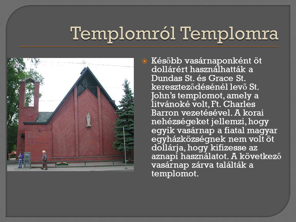 Templomról Templomra