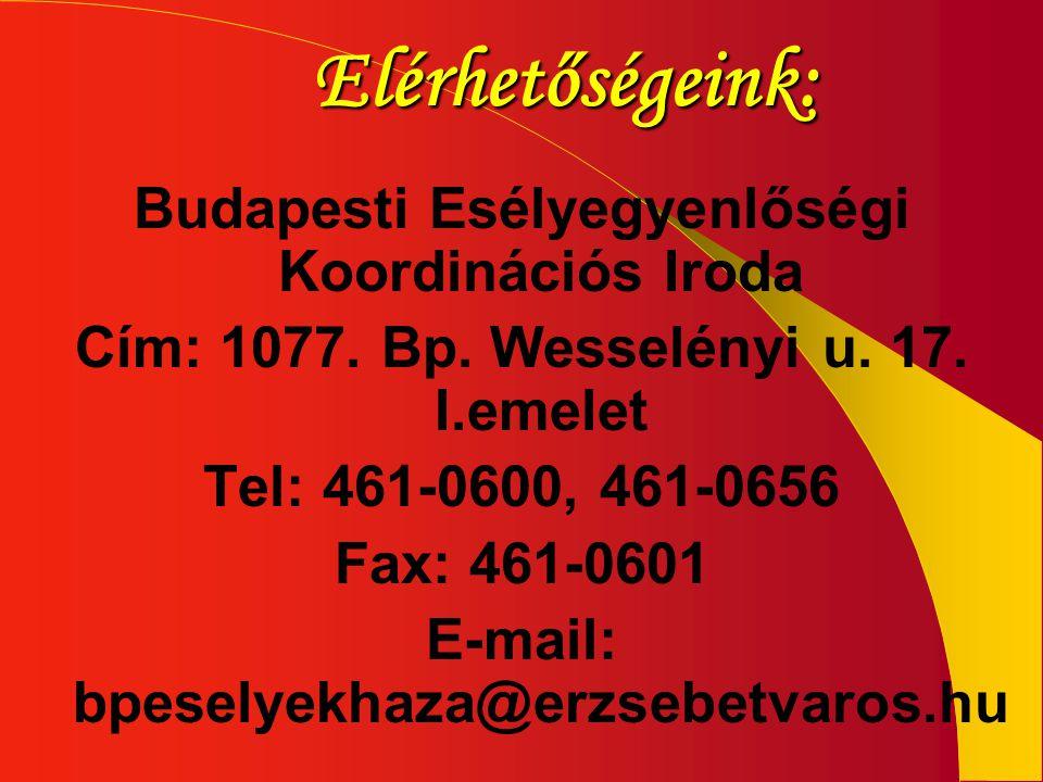 Budapesti Esélyegyenlőségi Koordinációs Iroda