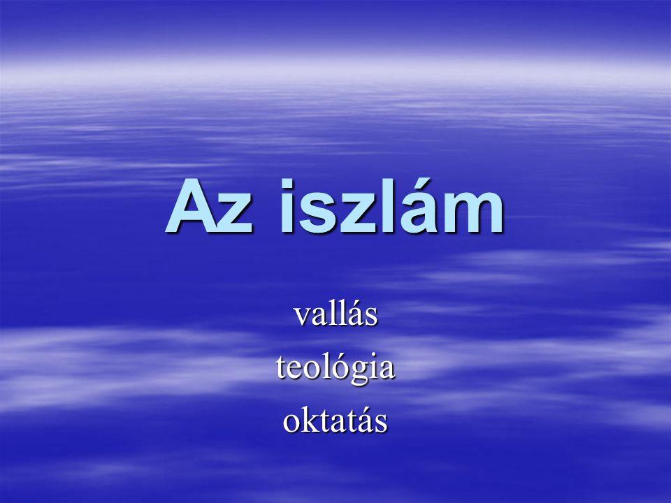 vallás teológia oktatás