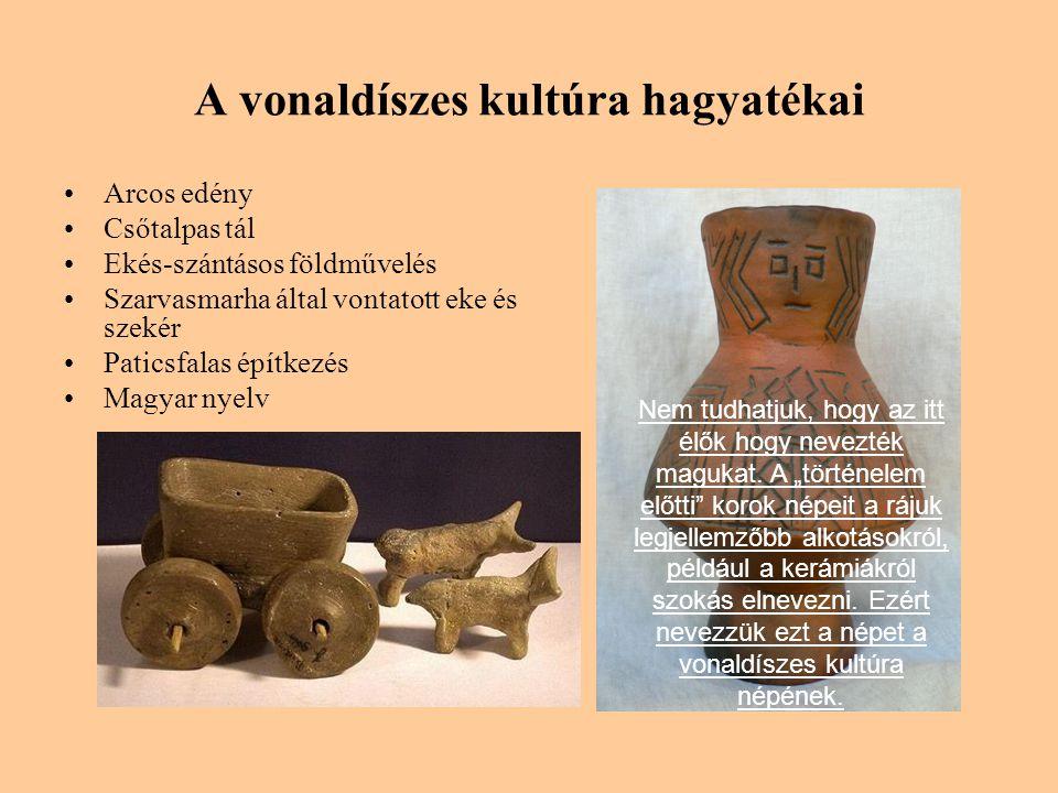 A vonaldíszes kultúra hagyatékai
