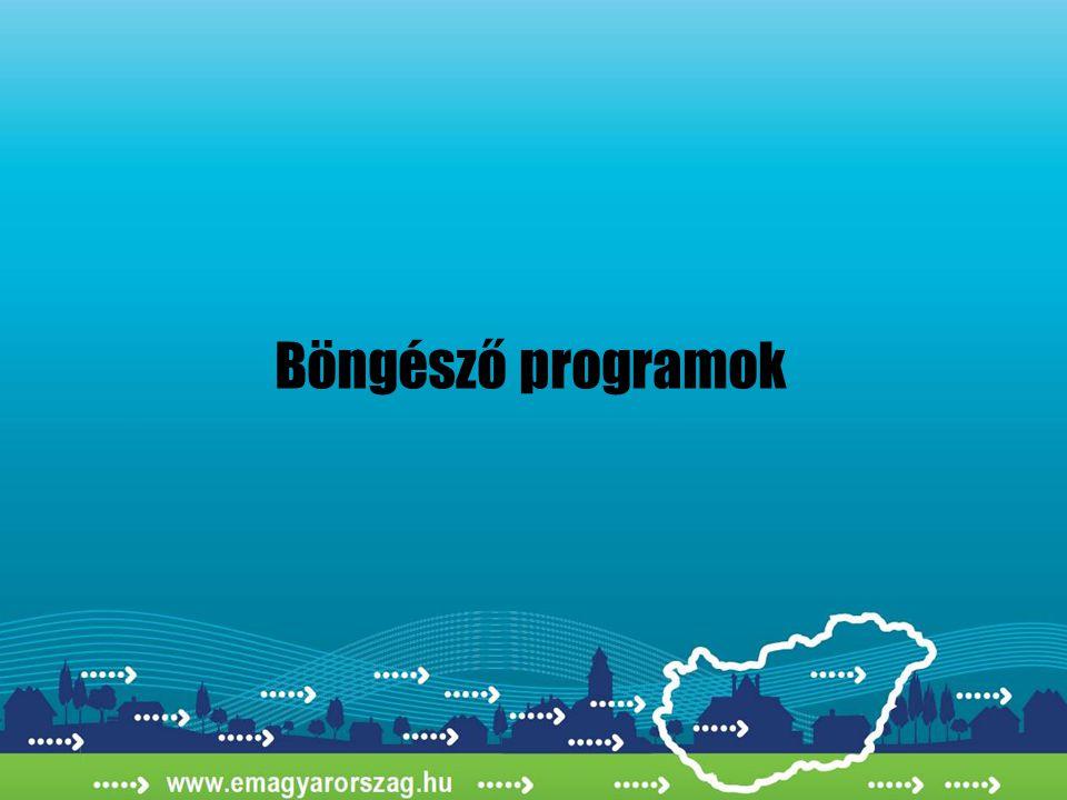 Böngésző programok