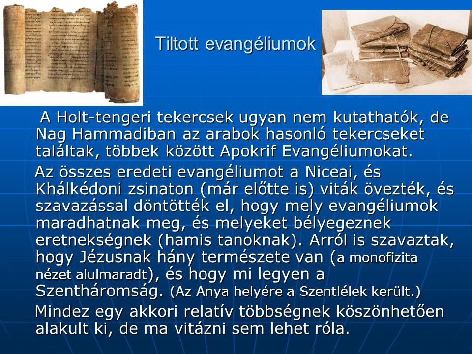 Tiltott evangéliumok