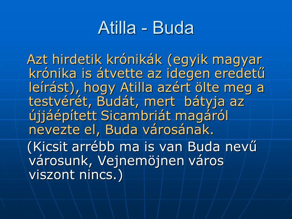 Atilla - Buda