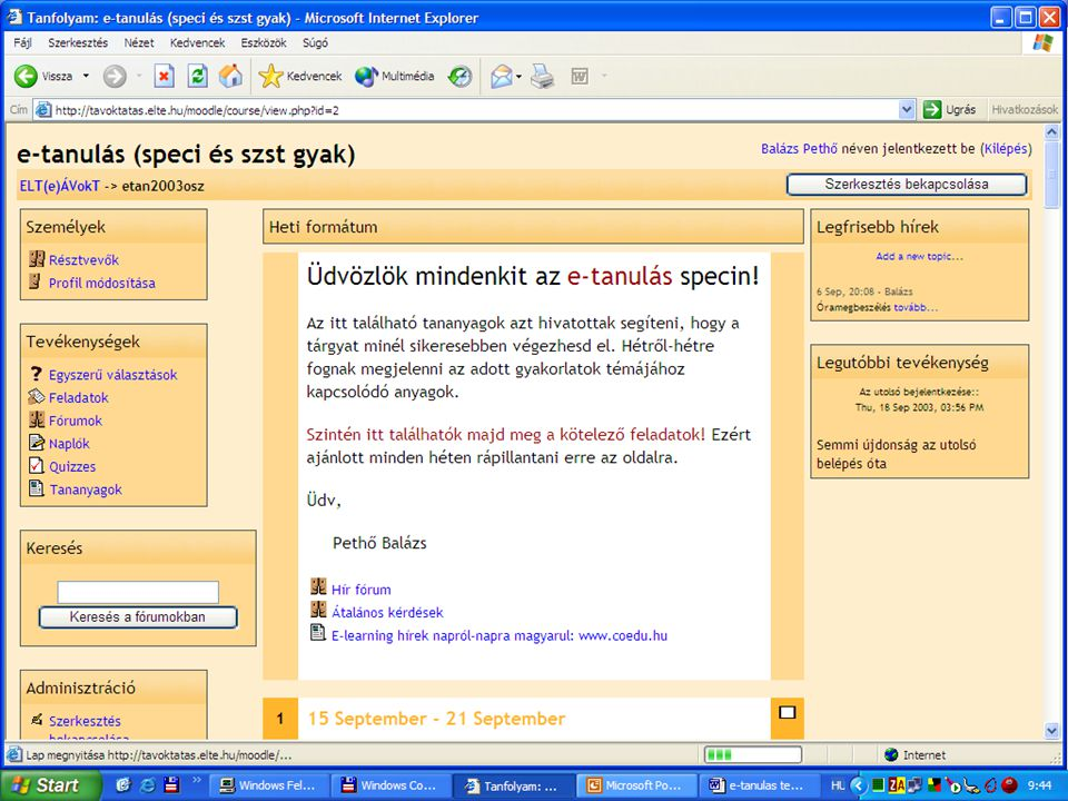 tavoktatas.elte.hu/moodle