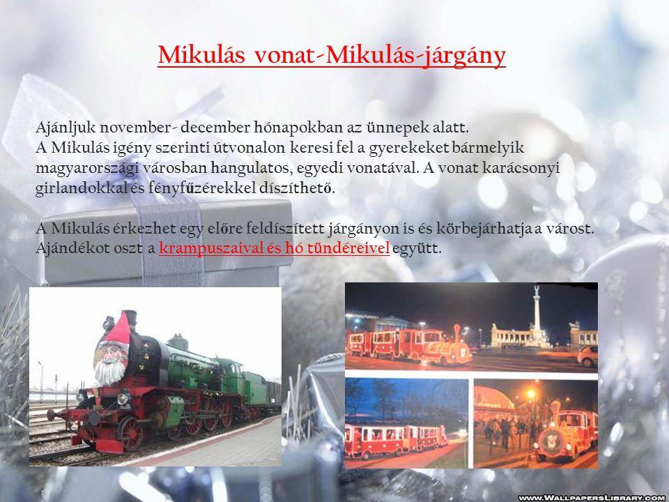 Mikulás vonat-Mikulás-járgány