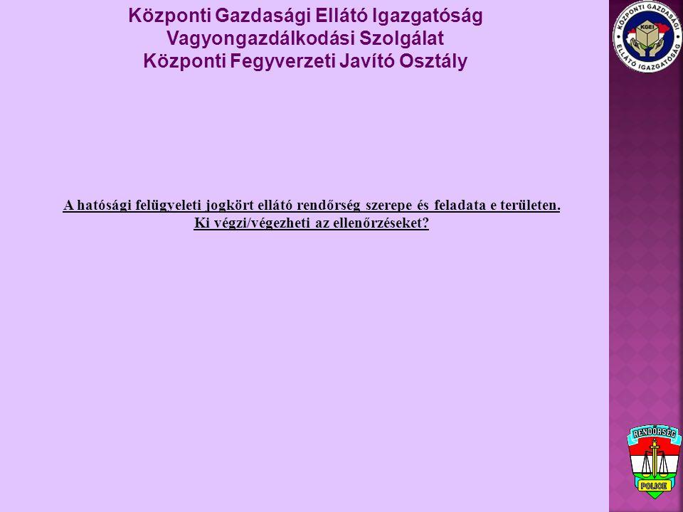 Központi Gazdasági Ellátó Igazgatóság Vagyongazdálkodási Szolgálat