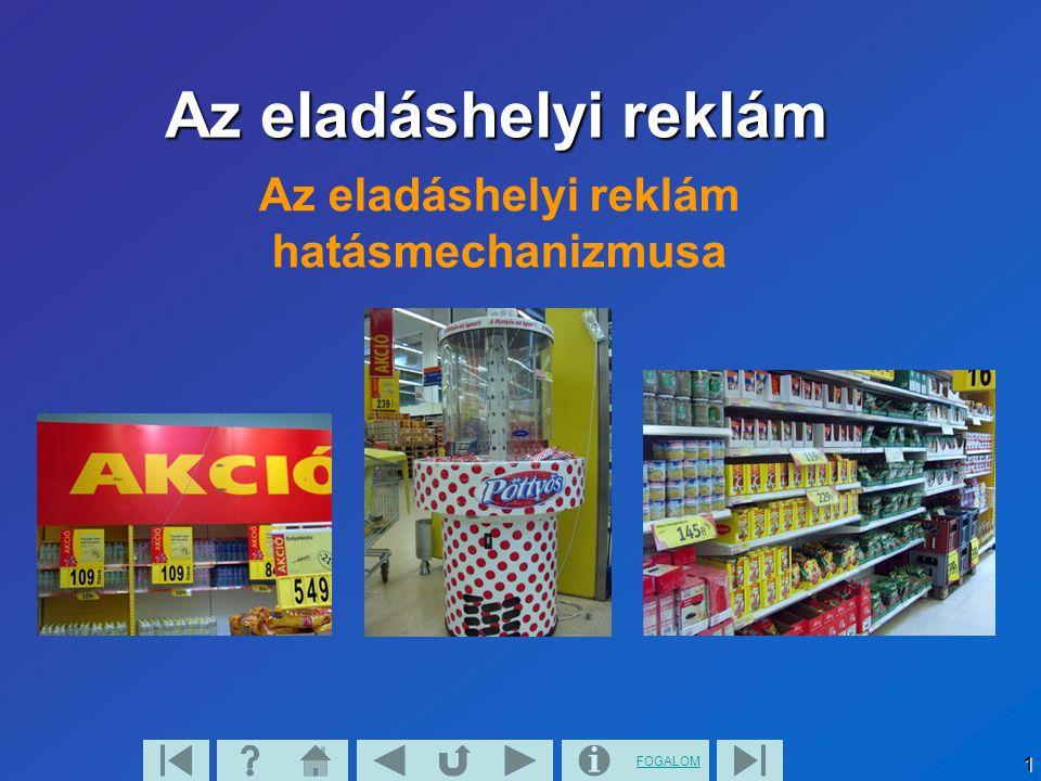 Az eladáshelyi reklám hatásmechanizmusa