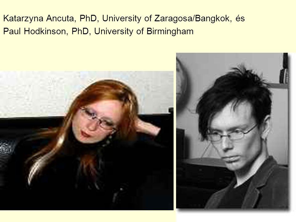 Katarzyna Ancuta, PhD, University of Zaragosa/Bangkok, és