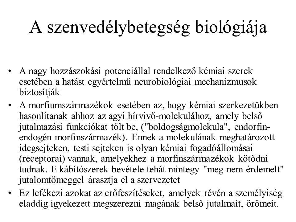 A szenvedélybetegség biológiája