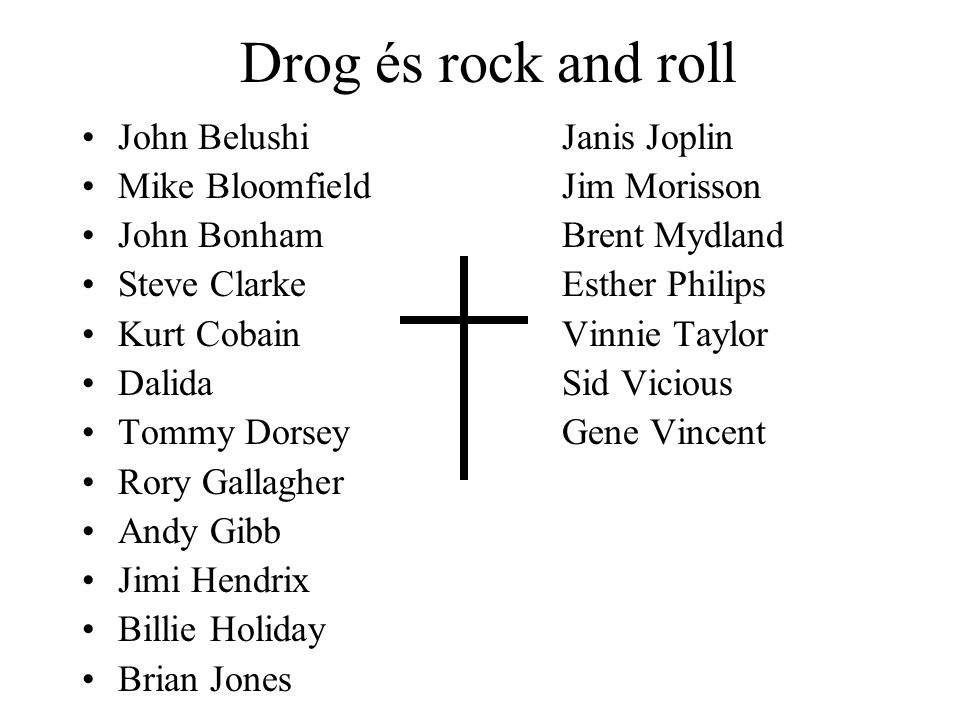 Drog és rock and roll John Belushi Janis Joplin