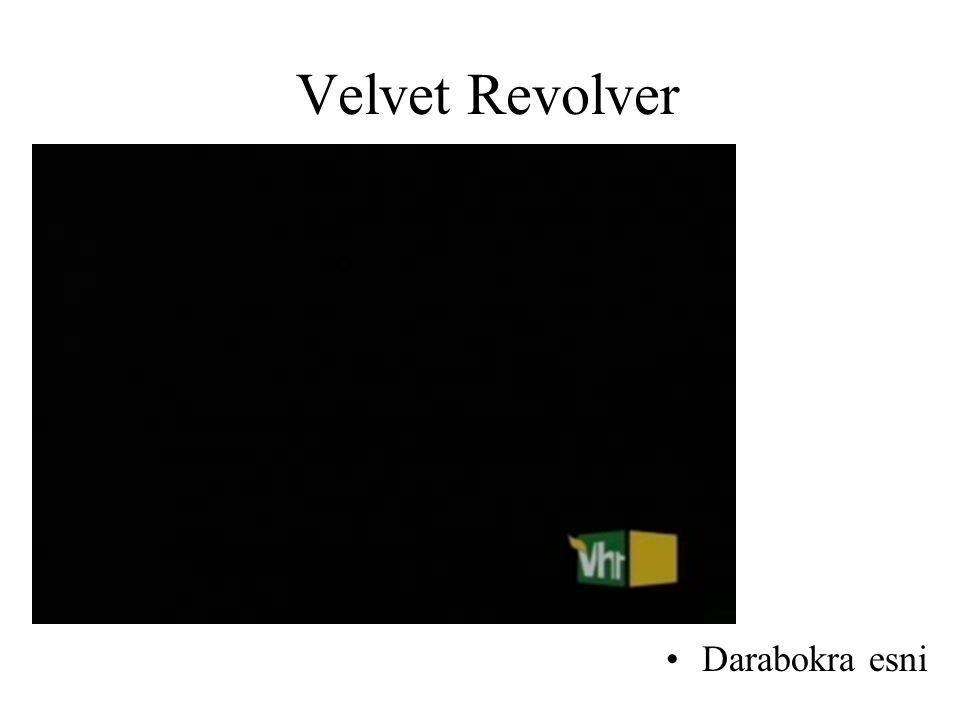 Velvet Revolver Darabokra esni