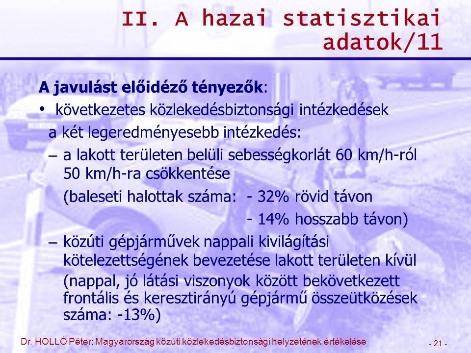 II. A hazai statisztikai adatok/11