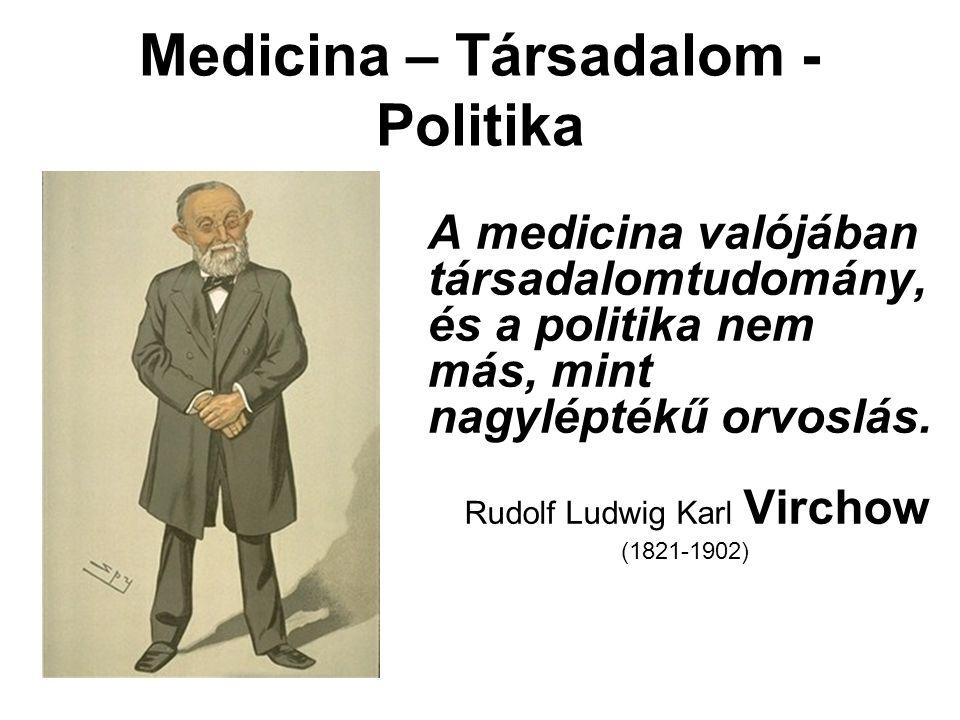 Medicina – Társadalom - Politika