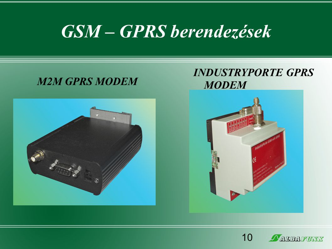 GSM – GPRS berendezések
