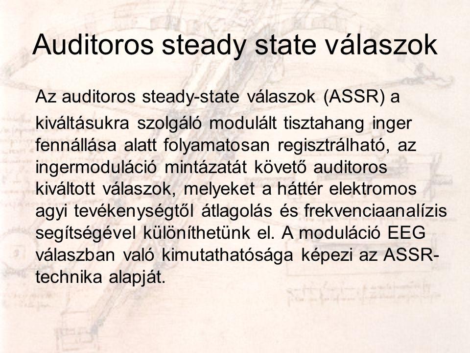 Auditoros steady state válaszok