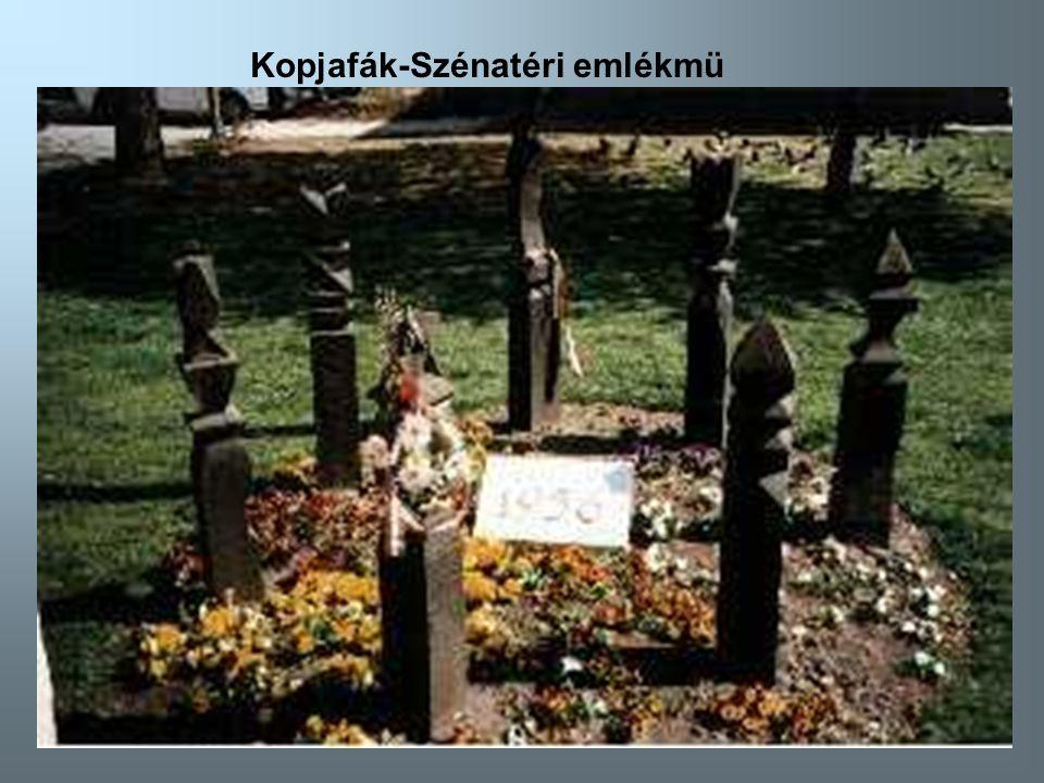 Kopjafák-Szénatéri emlékmü