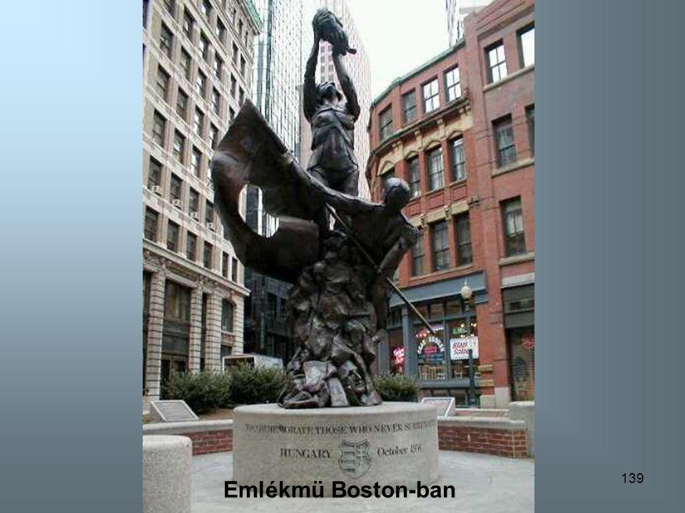 Emlékmü Boston-ban Emlékmü Boston-ban
