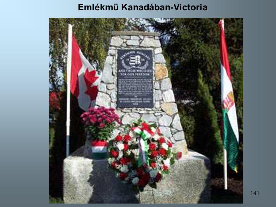 Emlékmü Kanadában-Victoria