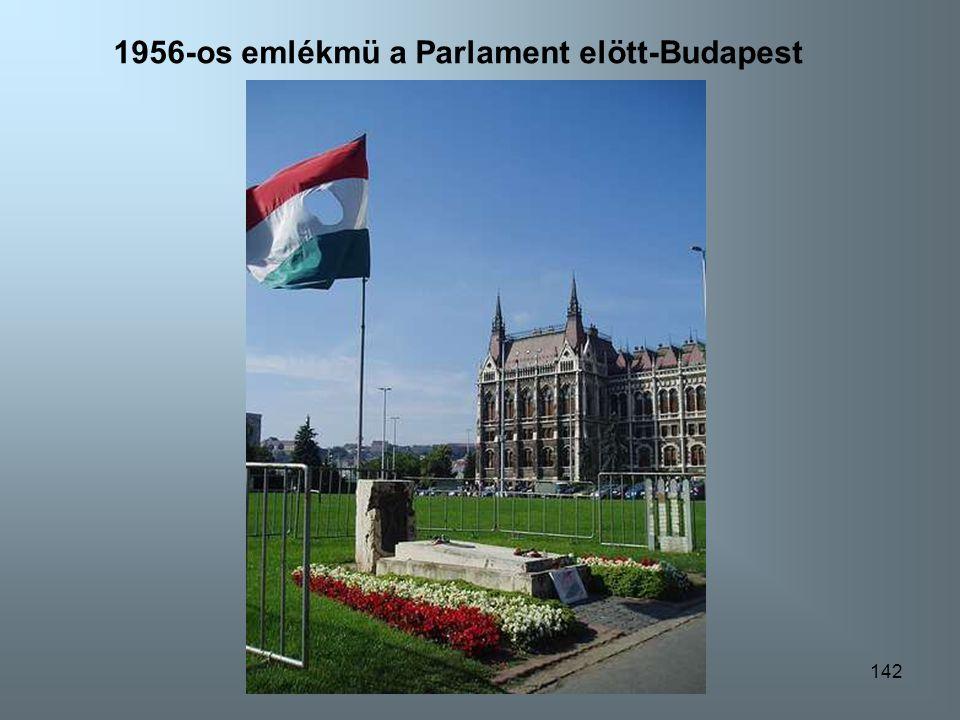 1956-os emlékmü a Parlament elött-Budapest