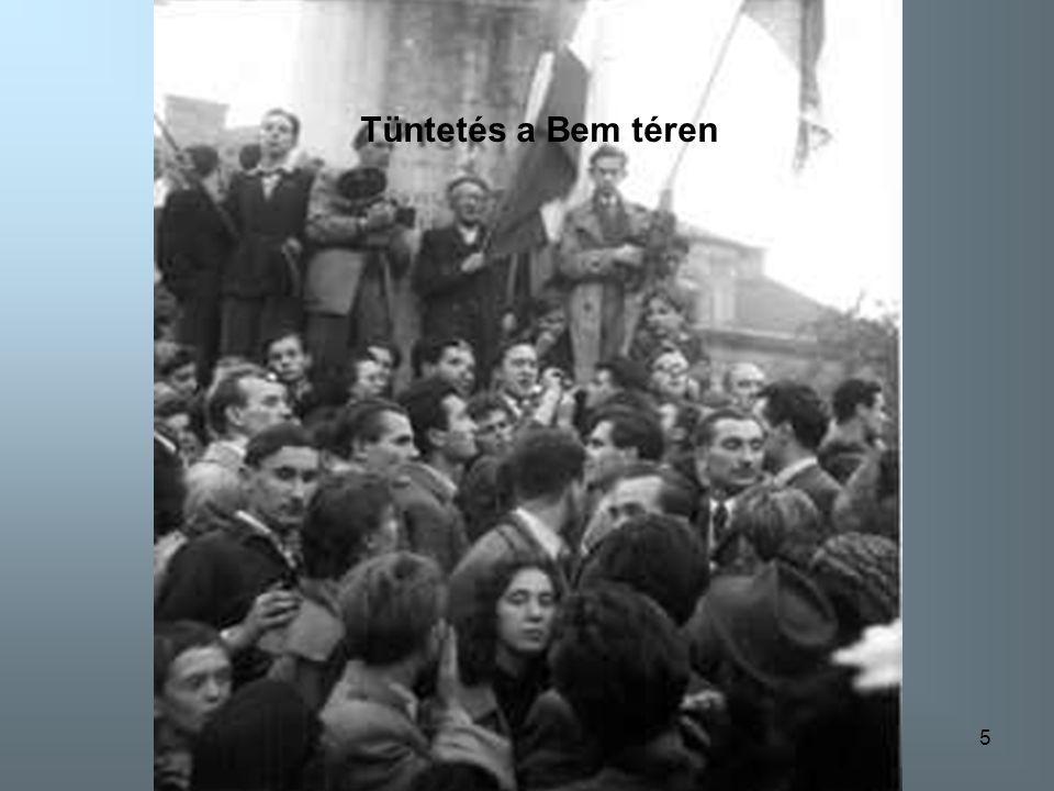 Tüntetés a Bem téren Tüntetés a Bem téren