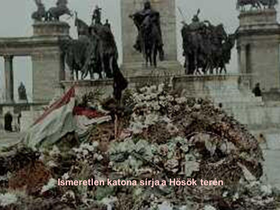 Ismeretlen katona sírja a Hösök terén