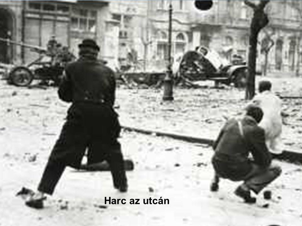 Harc az utcán Harc az utcán