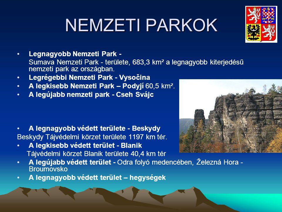 NEMZETI PARKOK Legnagyobb Nemzeti Park -