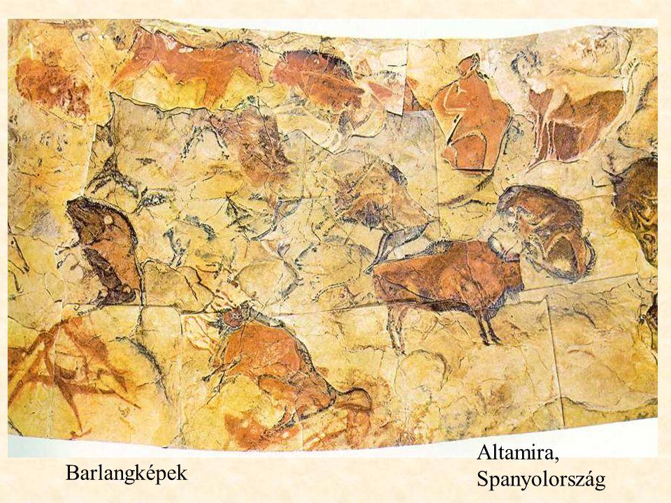 Altamira, Spanyolország Barlangképek