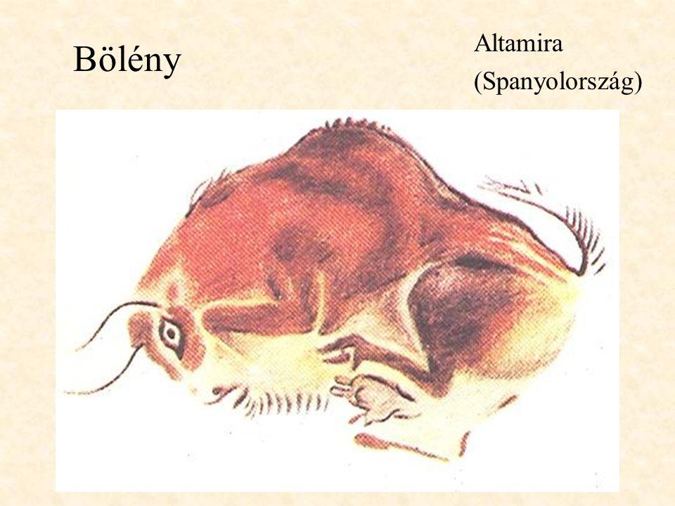 Altamira (Spanyolország) Bölény