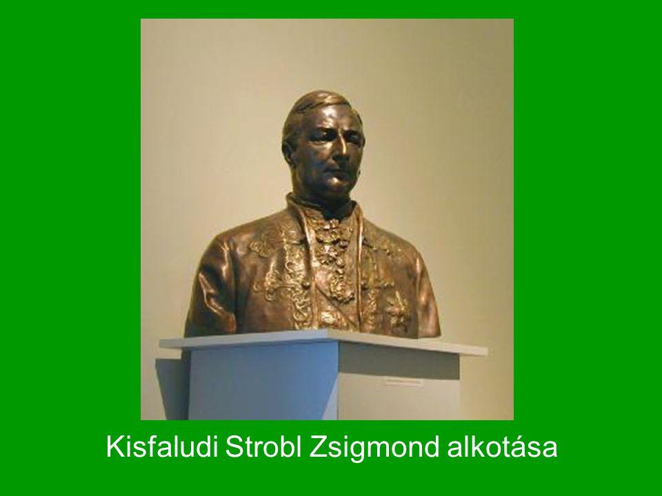Kisfaludi Strobl Zsigmond alkotása