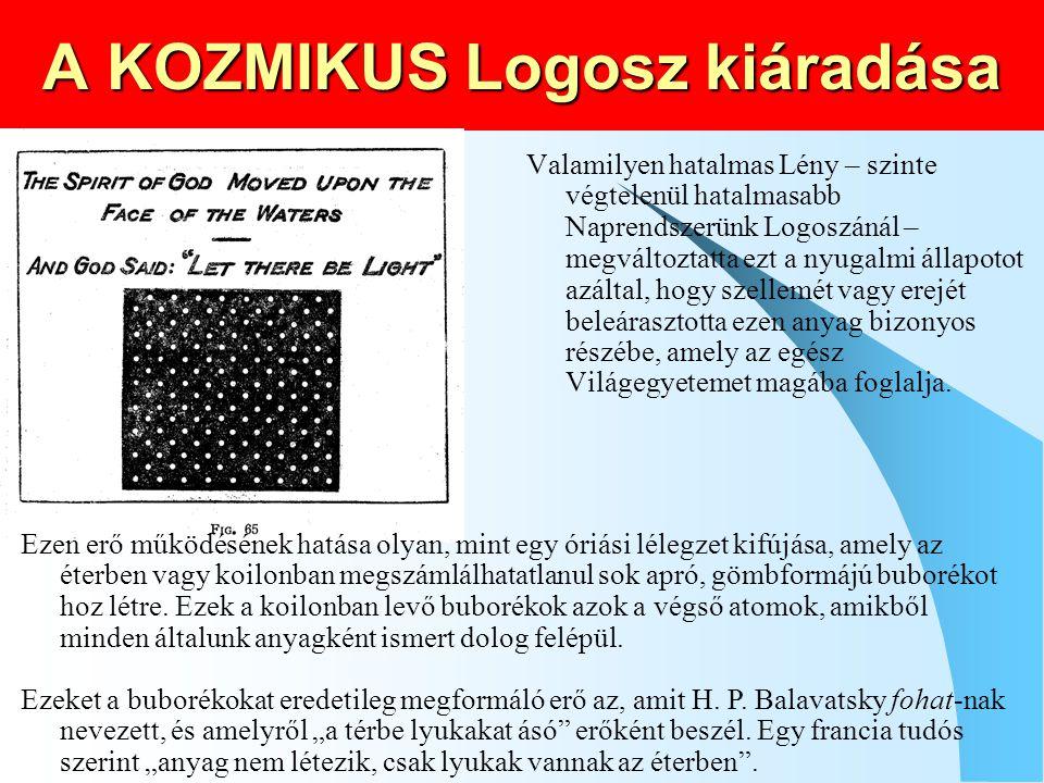 A KOZMIKUS Logosz kiáradása