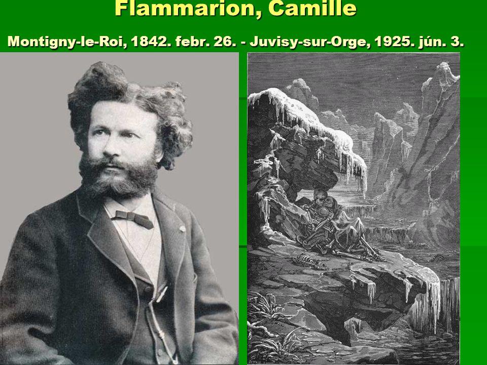 Flammarion, Camille Montigny-le-Roi, 1842. febr. 26