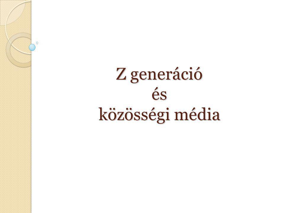 Z generáció és közösségi média