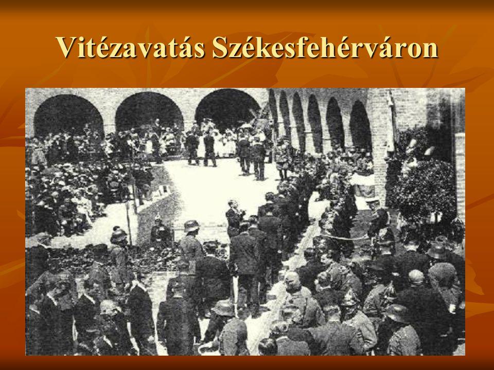 Vitézavatás Székesfehérváron