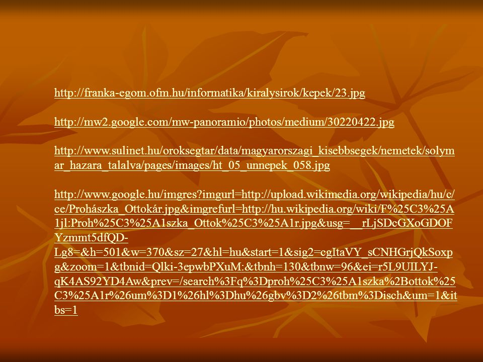 http://franka-egom.ofm.hu/informatika/kiralysirok/kepek/23.jpg http://mw2.google.com/mw-panoramio/photos/medium/30220422.jpg.
