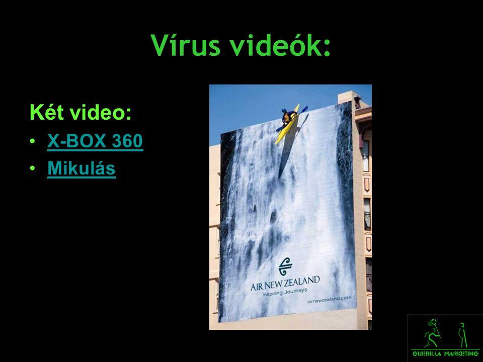 Vírus videók: Két video: X-BOX 360 Mikulás