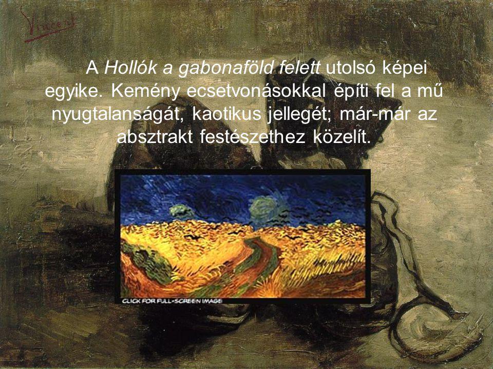 A Hollók a gabonaföld felett utolsó képei egyike
