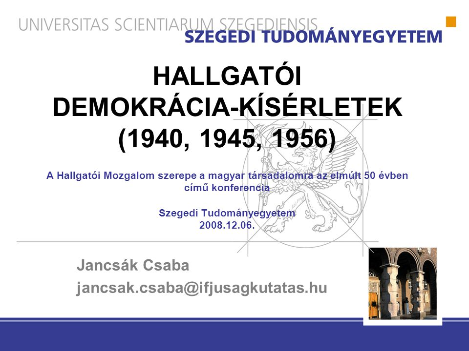 Jancsák Csaba jancsak.csaba@ifjusagkutatas.hu