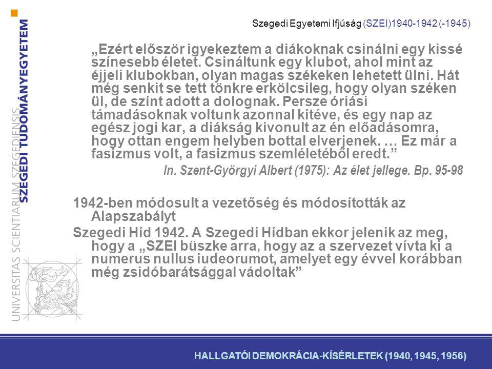 In. Szent-Györgyi Albert (1975): Az élet jellege. Bp. 95-98