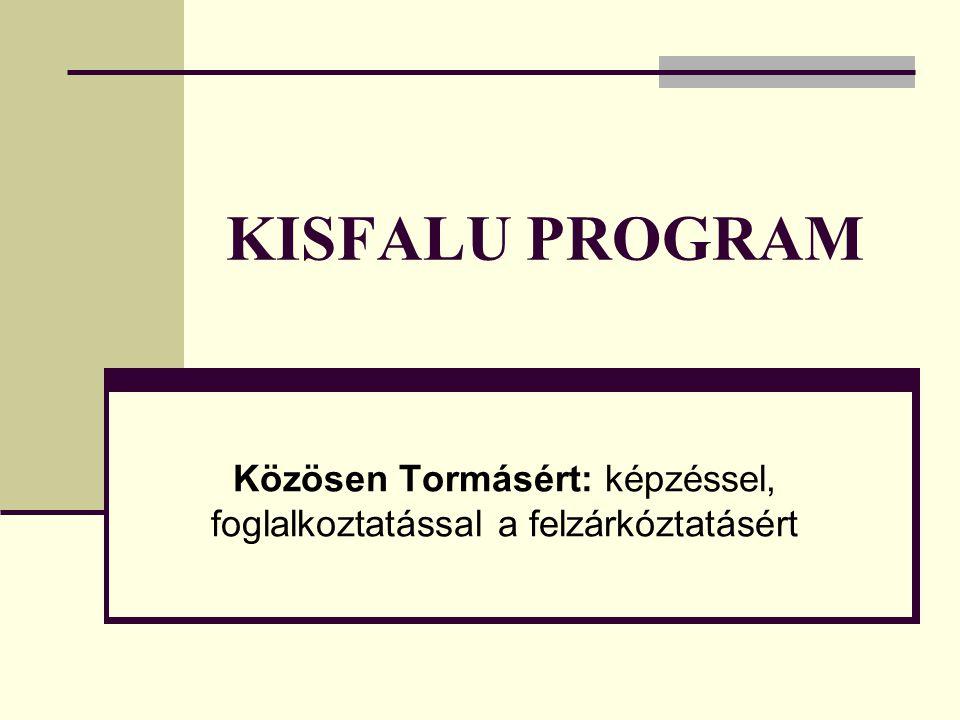 Közösen Tormásért: képzéssel, foglalkoztatással a felzárkóztatásért