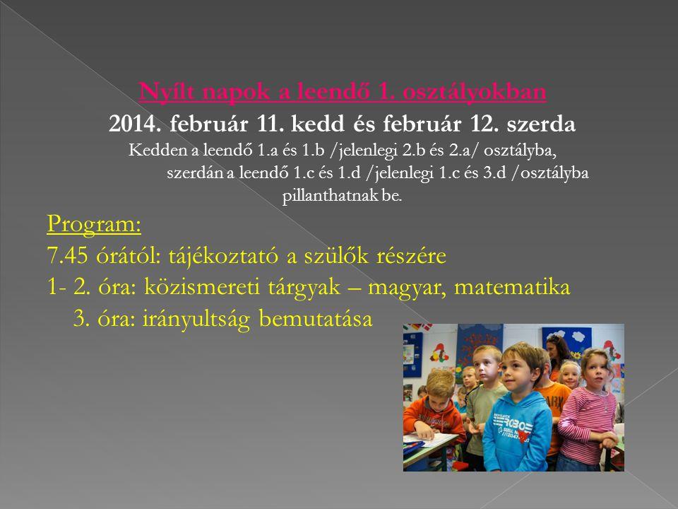 2014. február 11. kedd és február 12. szerda