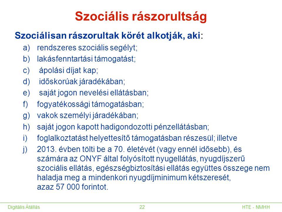 Szociális rászorultság