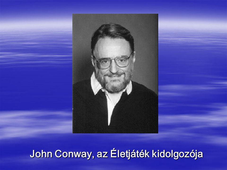 John Conway, az Életjáték kidolgozója