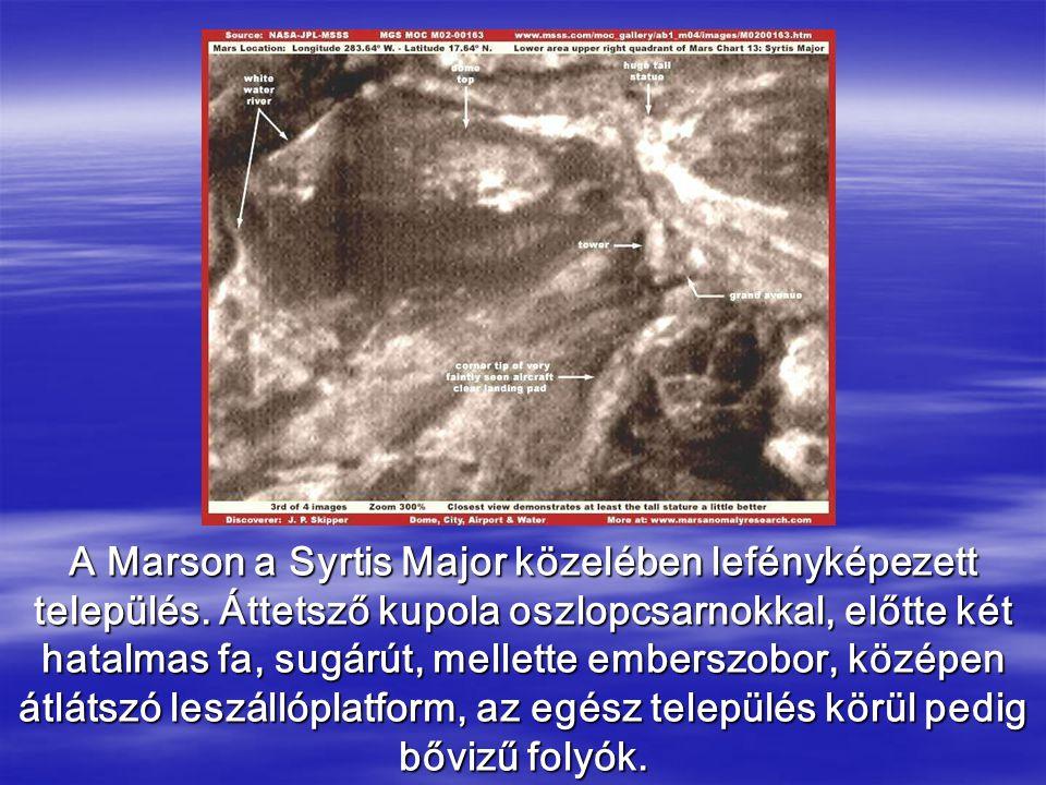 A Marson a Syrtis Major közelében lefényképezett település