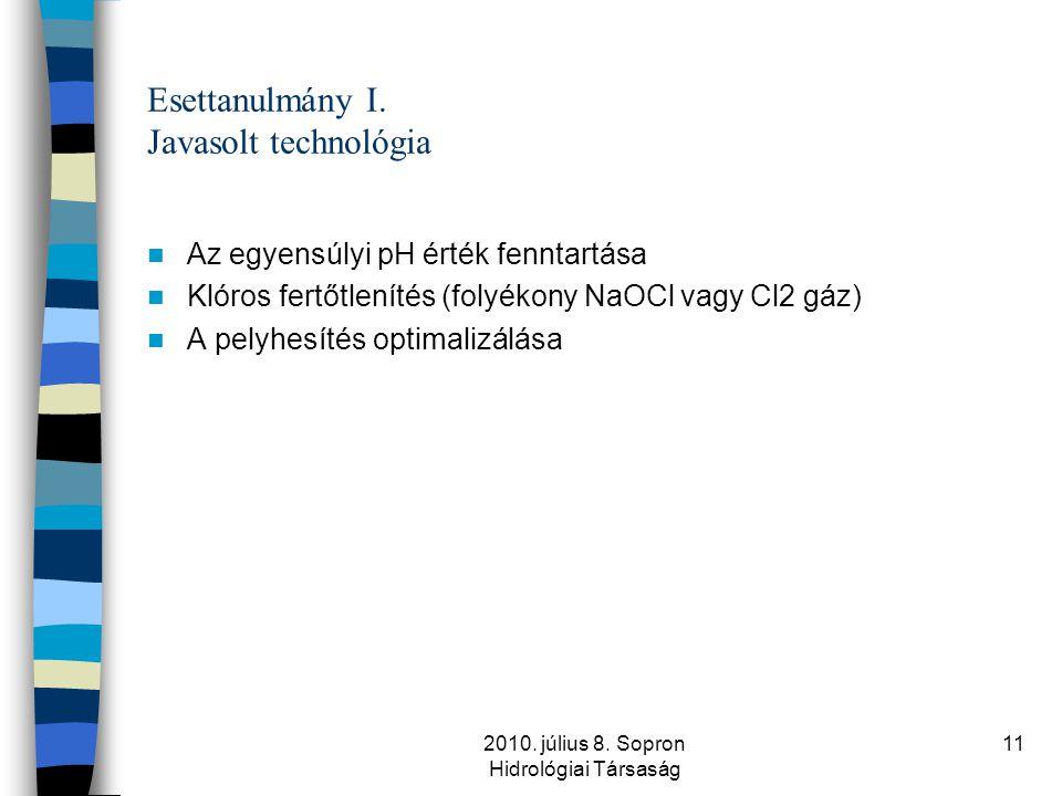 Esettanulmány I. Javasolt technológia