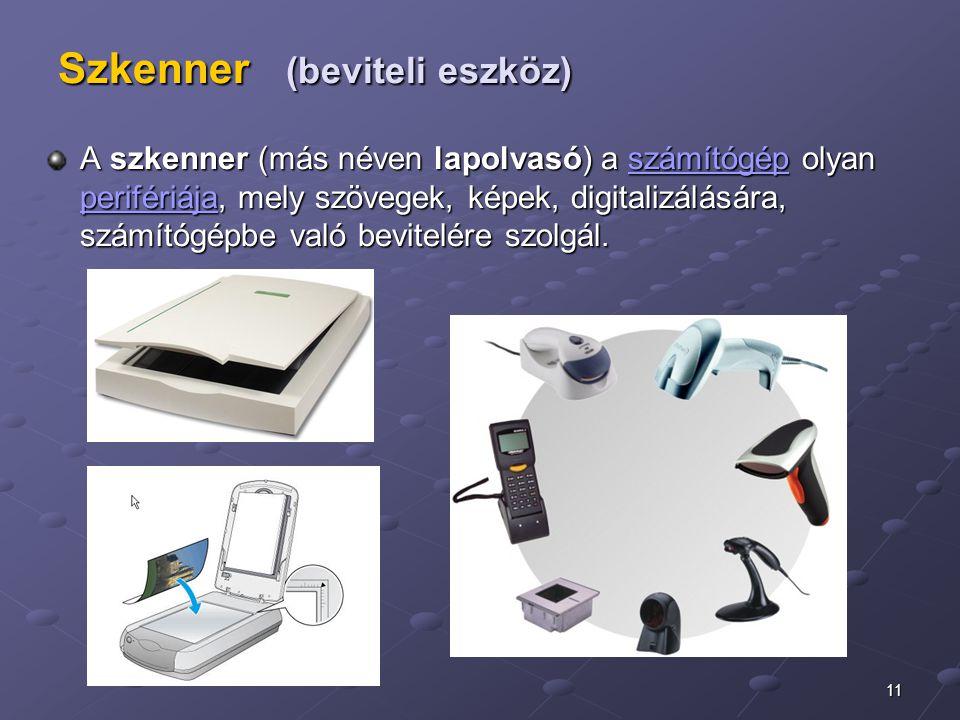 Szkenner (beviteli eszköz)