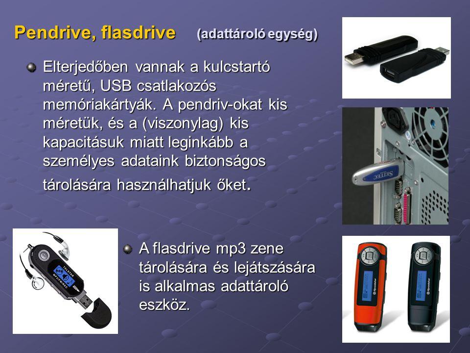 Pendrive, flasdrive (adattároló egység)